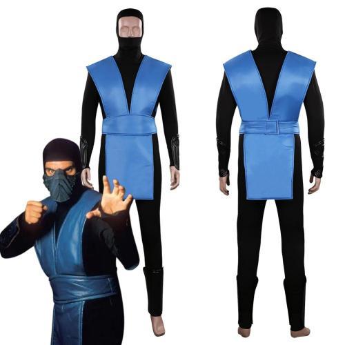 Mortal Kombat Sub-Zero Kuai Liang/Bi Han Outfits Halloween Carnival Suit Cosplay Costume