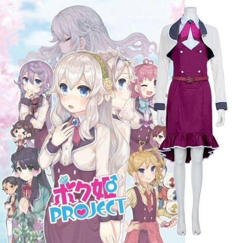 Anime Princess Project Cosplay Clothing Suits Coat Dress Full Sets Female Cos Halloween Women Accessories Clothing