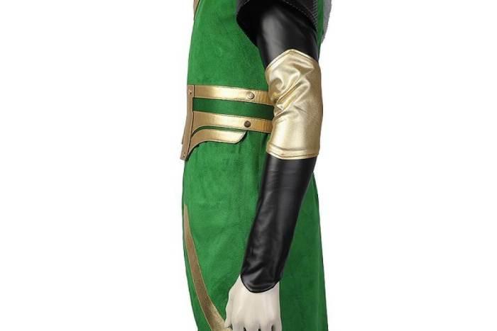 Kid Loki Cosplay Costume Loki Laufeyson Halloween Carnival Suit