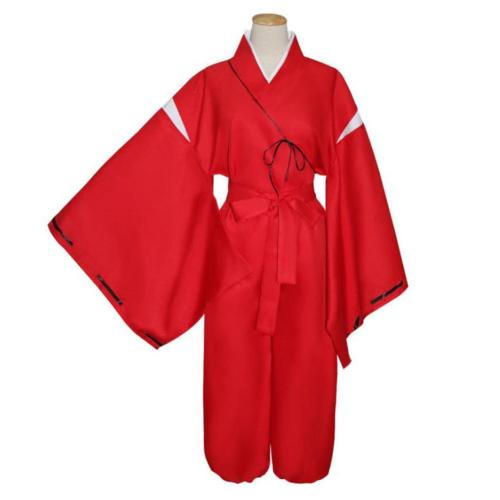 Anime Inuyasha Outfits Halloween Carnival Suit Cosplay Costume