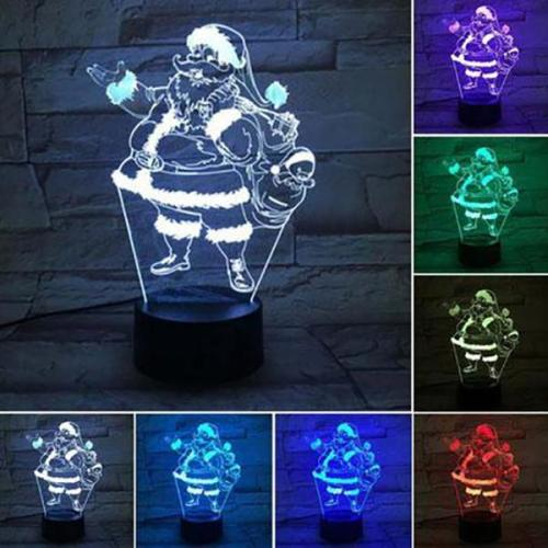 Creative Christmas Gift 3D Night Light