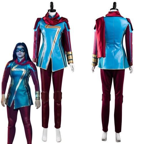 Ms. Marvel Kamala Khan Outfits Halloween Carnival Suit Cosplay Costume