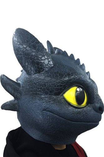 Dragon Toothless Mask  Movie How To Train Your Dragon 3 The Hidden World Latex Props
