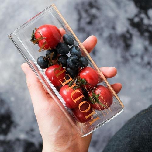 Creative Square S Glass Mug
