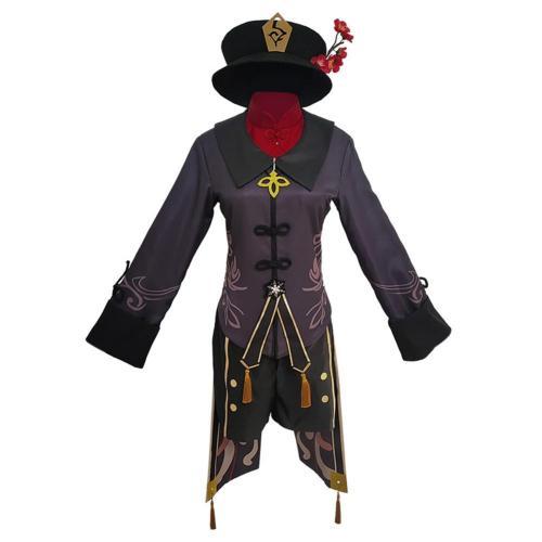 Game Genshin Impact Hutao Outfits Halloween Carnival Costume Cosplay Costume