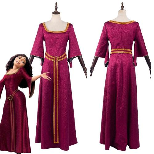 Mother Gothel Outfits Halloween Carnival Suit Cosplay Costume