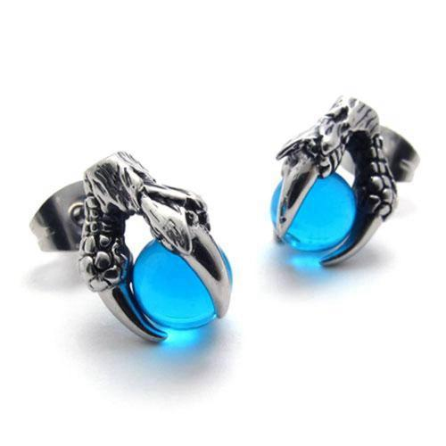 Dragon Claw Stainless Steel Earrings