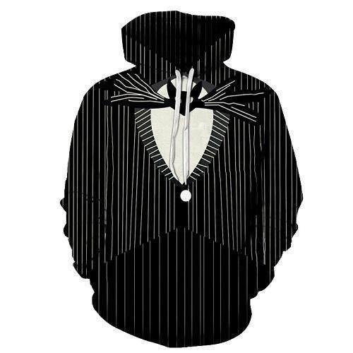 Bat Tuxedo 3D Sweatshirt Hoodie Pullover