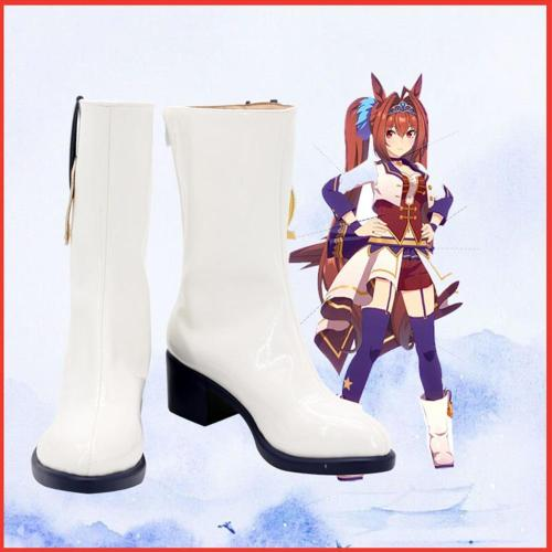 Pretty Derby Boots Halloween Costumes Accessory Custom Made Cosplay Shoes