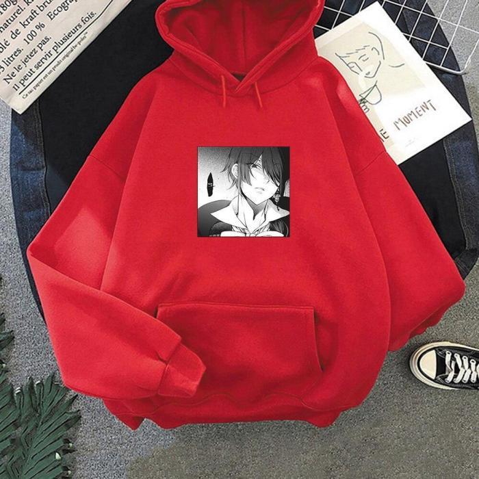 Vanitas No Carte Hoodie Harajuku Oversize Sweatshirt Cool Unisex Long Sleeve Comics Print Hip Hop Pullover