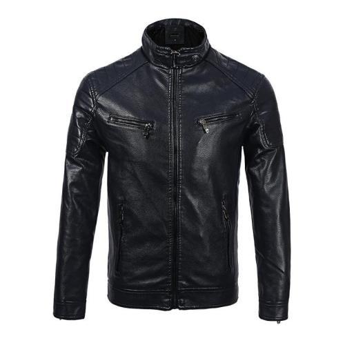 Tough Man Leather Jacket Wallet For  Men