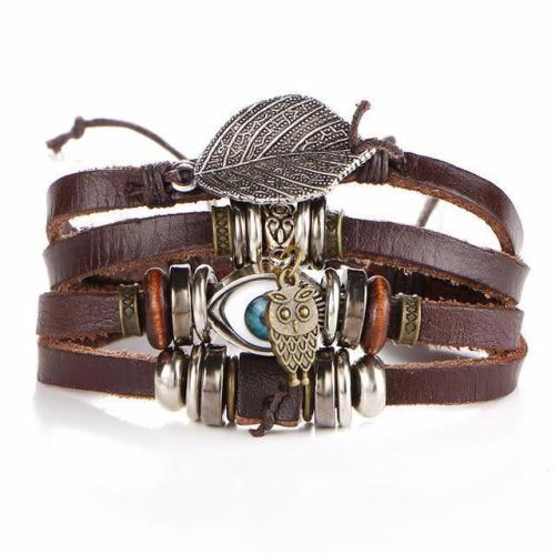 Voodoo Leather Bracelet Series