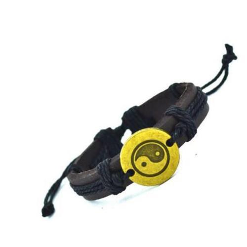 Balance Leather Bracelet