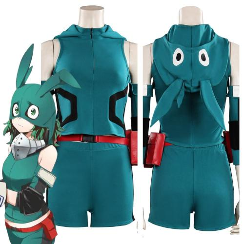 My Hero Academia Midoriya Izuku Top Shorts Outfits Halloween Carnival Suit Cosplay Costume