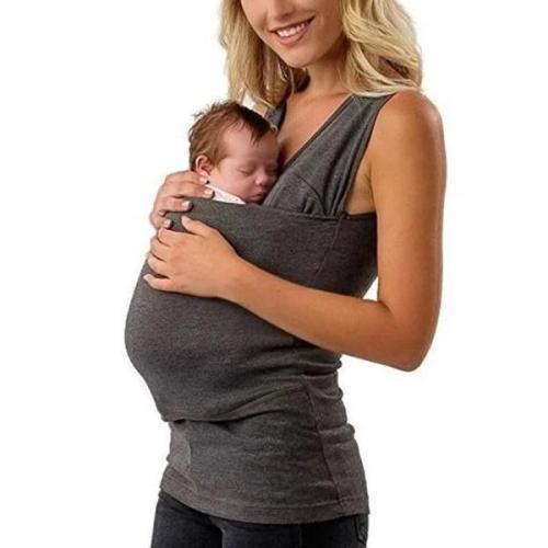 Multi-Functional Parent-Child Kangaroo Pocket T-Shirt