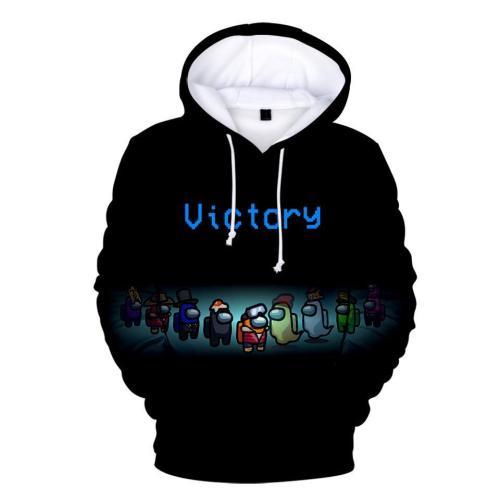 Adult Style-22 Impostor Crewmate Among Us Cartoon Game Unisex 3D Printed Hoodie Pullover Sweatshirt