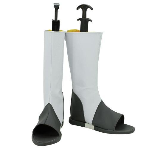 Akatsuki Deidara From Naruto Halloween White Shoes Cosplay Boots