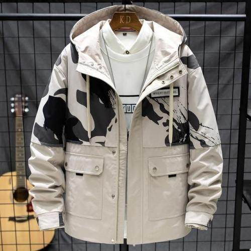 Mens Outdoor Casual Camouflage Jacket