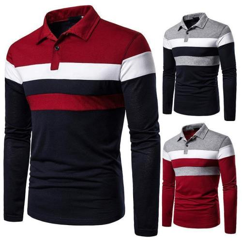 Men'S Casual Comfortable Polo Shirt
