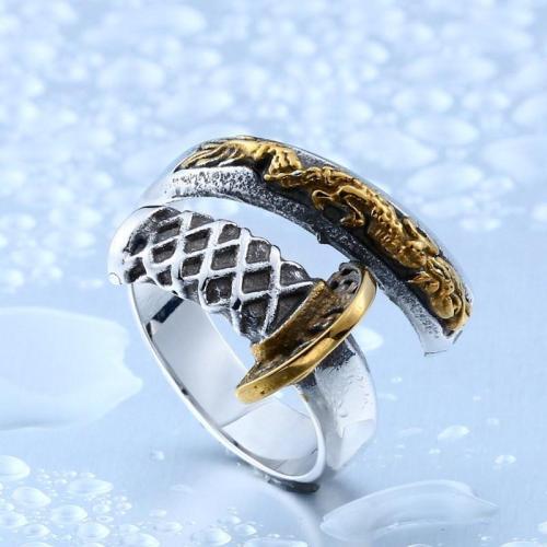 Katana Steel Ring