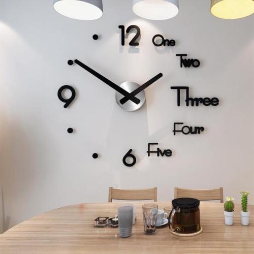 Diy Large Wall Clock