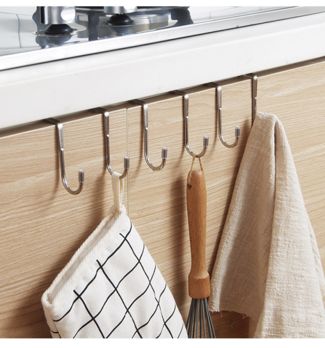 Multifunctional S-Shaped Bathroom Kitchen Hook Hanger