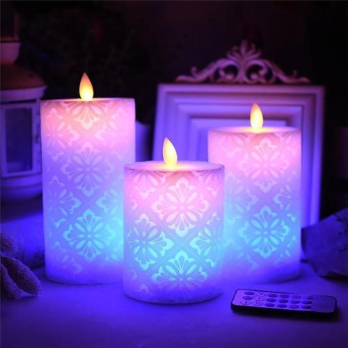 Flameless Electronic Led Candle Night Light