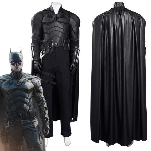 The Batman Bruce Wayne Pants Cloak Outfits Halloween Carnival Suit Cosplay Costume