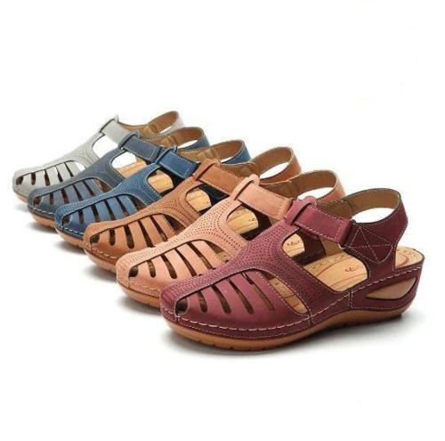 Premium Round Toe Sandals