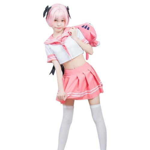 Fate/Grand Order Fgo Astolfo Sailor Suit Dress Outfits Halloween Carnival Costume Cosplay Costume