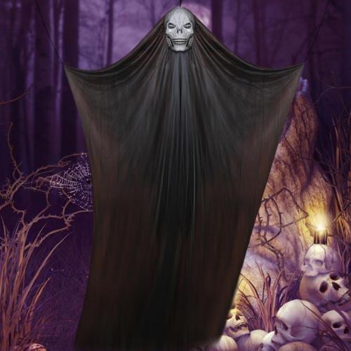 Halloween Decoration Horror Skull Hanging Cloth Props