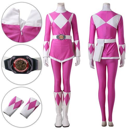 Mighty Morphin Power Rangers Pink Ranger Cosplay Costume