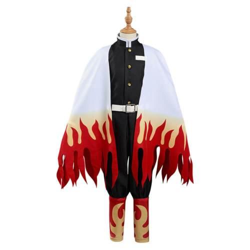 Demon Slayer Kimetsu No Yaiba Rengoku Kyoujurou Cosplay Costumes