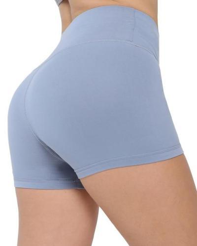 Workout Fitness Shorts Seamless Biker Shorts Women High Waist