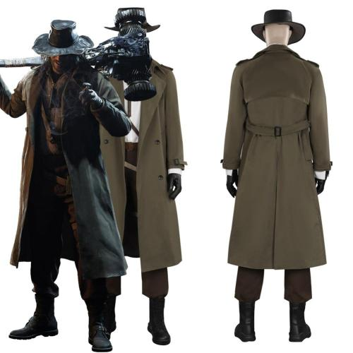 Resident Evil Village Karl Heisenberg Outfits Halloween Carnival Suit Cosplay Costume