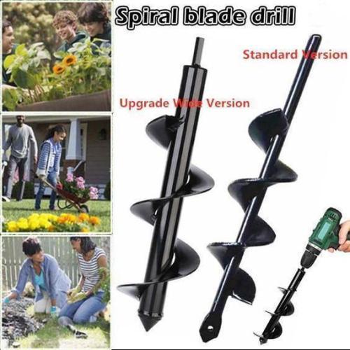 Garden Auger - Spiral Drill Bit