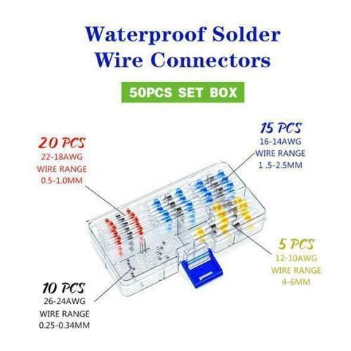 Waterproof Solder Wire Connectors