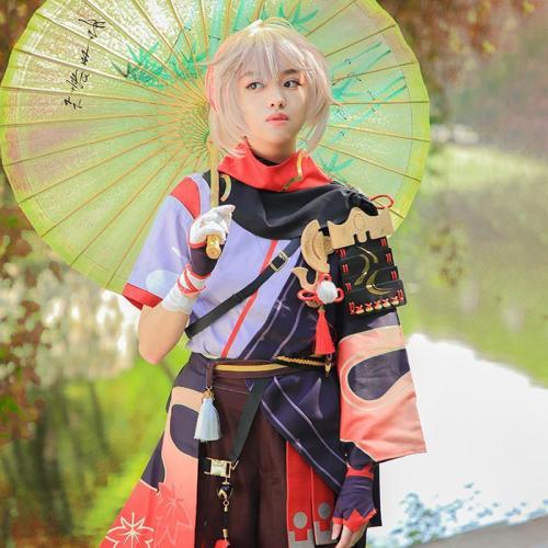 Genshin Impact Kazuha Halloween Cosplay Costume