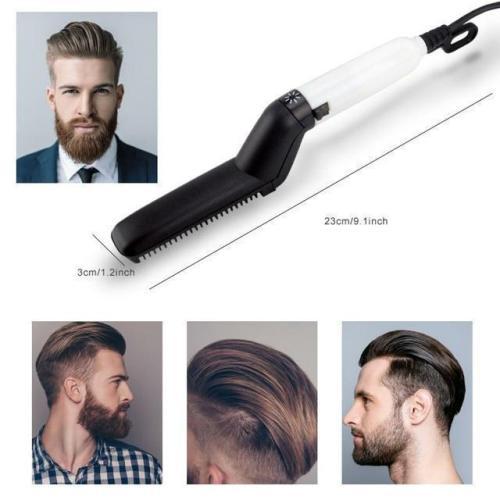 Multi-Functional Hair Comb Beard Straightener