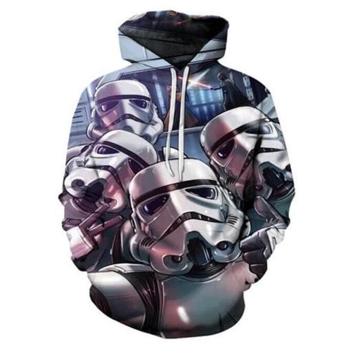Star Wars Robot Astronaut 3D Sweatshirt, Hoodie, Pullover