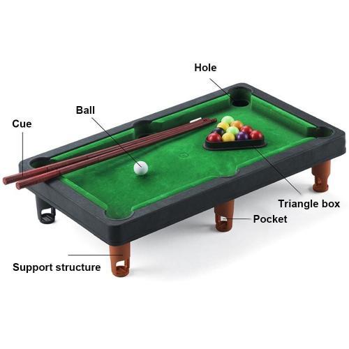 Mini Billiards Pool Board Game