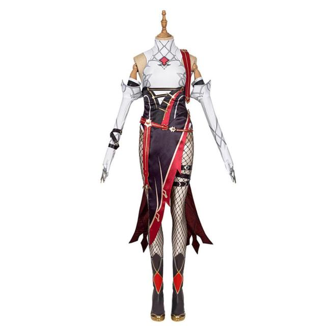 Genshin Impact Rosalia Outfits Halloween Carnival Suit Cosplay Costume