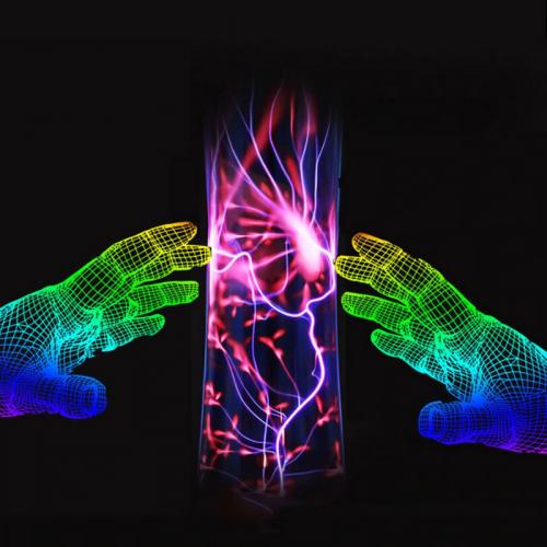 Lightning Plasma Static Touch Lamp