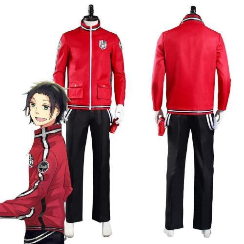 Anime World Trigger Arashiyama Squad Uniform Outfits Halloween Carnival Suit Cosplay Costume