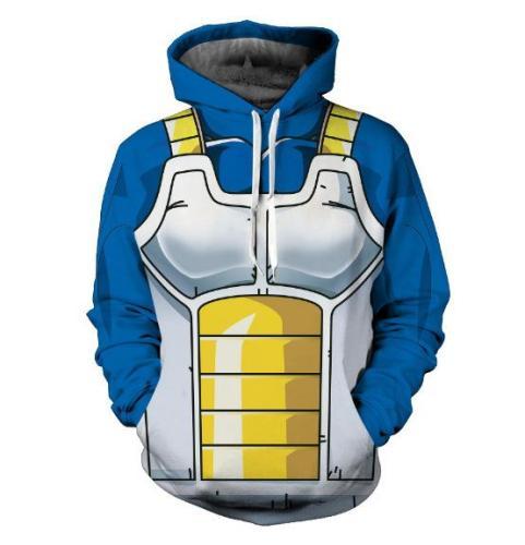 Dragon Ball Muscle Man Anime Unisex 3D Printed Hoodie Pullover Sweatshirt