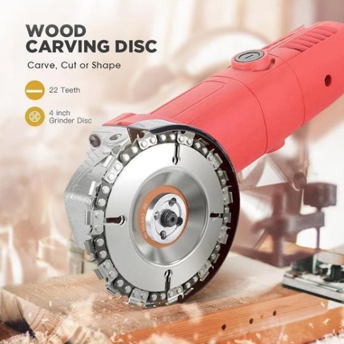Wood Carving Chain Disc