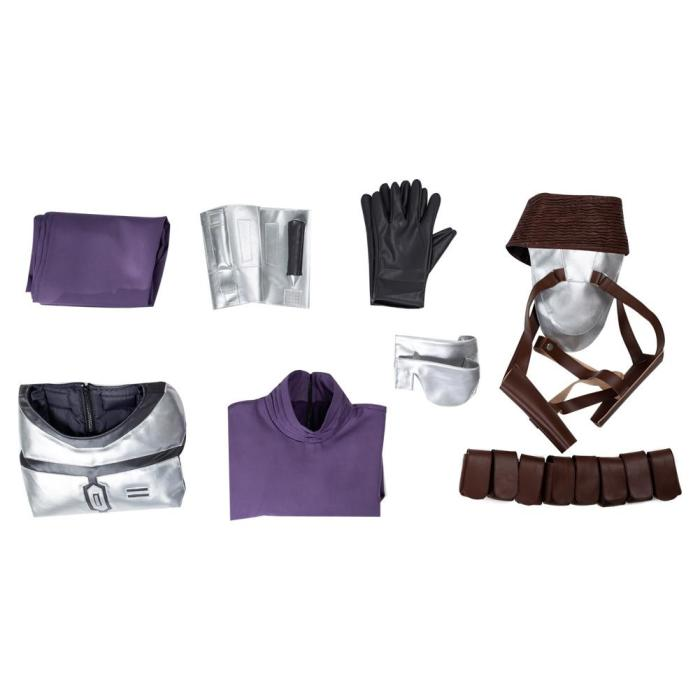 Star Wars - Jango Fett Outfits Halloween Carnival Suit Cosplay Costume