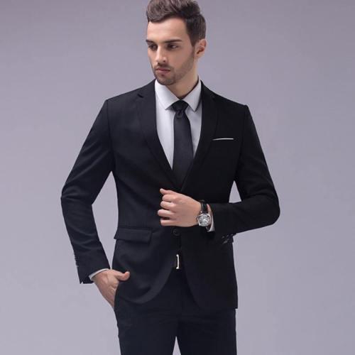 2 Piece Suits Men'S Slim Fit Suit