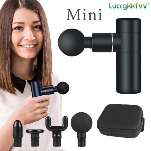 Massage Gun Mini Pocket Massager Deep Muscle Vibration Relief Pain Relax