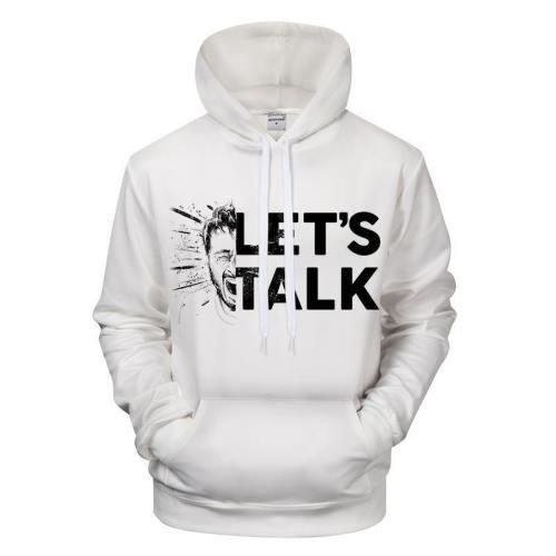 Let'S Talk 3D - Sweatshirt, Hoodie, Pullover